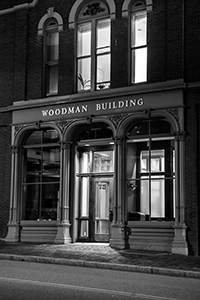 The Woodman Building, home of Murray, Plumb &amp; Murray, Portland, Maine